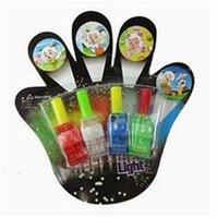 Wholesale 2015 LED Christmas Lights Toy Lamp Magic Finger Lights Finger Laser Lights Finger Ring Light Party Flash Toys LED Lights Toys