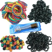 rubber o ring - Hot Selling Tattoo Accessories Tattoo Supplies Rubber O Rings A bar Grommet Nipple Bands machine Cleaning Brush