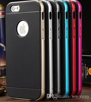 Wholesale Sgp Hybrid Metal Blue - Neo Hybrid SGP case for iphone 6s case iphone 6s plus case bumper case Protect shell hight quality bumper Metal case hot seller