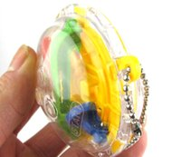 Wholesale Steps Mini Puzzle ball Educational Magic Intellect Ball Marble Puzzle Game perplexus magnetic balls