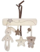babies tank toys - Cot hanging toy baby rattle toy soft plush rabbit musical mobile products