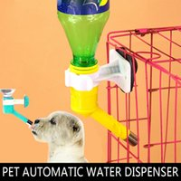 Cheap Pet Automatic Water Dispenser Drinker Superior Dogs Drinking Head Kit Hanging Water Bottle Head for Pets Feeder accessories