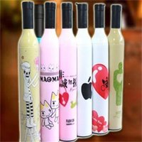 Wholesale Manufacturers selling hot sell Creative wine bottle bottle umbrella umbrella umbrella