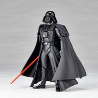 Wholesale Hot Kids Toy Star Wars Revoltech Darth Vader Stormtrooper PVC Action Figures Collectible Model Toys frozen
