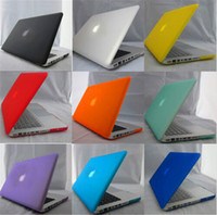 al por mayor retina 15-Mate de goma caso de Shell con la cubierta de teclado de silicona para Nueva Mackbook para Macbook Pro Retina Aire caso 11 13 15 Inch