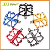 Wholesale Brand BaseCamp Cycling Pedal Aluminum Material Mountain Bike Pedal Ultralight Bicycle Pedals Unisex Pairs Via DHL