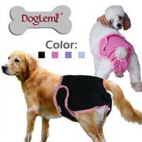 Wholesale MOQ with mixed sizes Female dog pant sanitary dog pants hygienic dog pant colors available