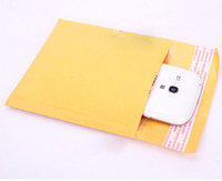 bank envelopes - DHL free x210mm Kraft Bubble Mailer Mail Envelope bag Trabsport packing for Cell phones cases cables Power bank Battery