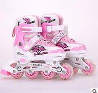 Wholesale Children s roller skates single wheel skates quality is reliable Roller skates Skates straight line