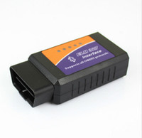 Wholesale DHL Super Elm327 Elm Bluetooth Android Obd II Obd2 V1 Obd ii Bt Interface Rs232 Diagnostic tool V1 Fiat Volvo