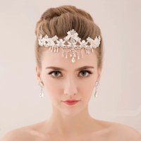 Wholesale 2015 New Arrival Russian Rhinestone Crystals Wedding Bridal Jewelry Set Earrings bride crown Cheap In Stock