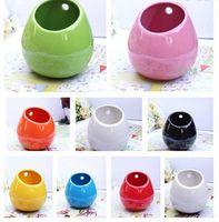 ceramic flower pots - Ceramic flower pots planters decorative vases wall hanging vase ceramic pot home decoration garden ornaments pen holder DIY pot