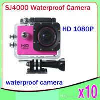 Wholesale SJ4000 Waterproof Sport DV HD Camera Car DVR Camcorder Gopro Style P P fps MP H Inch LCD No With wifi ZY DV