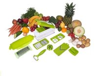 Wholesale sets Nicer Dicer Plus Vegetables Fruits Dicer Food Slicer Cutter Containers Chopper Peelers