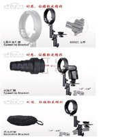 Speedlite gros-Mount Bracket Pour BOWENS Partie L Fit Bowens Softbox Snoot Reflecto etc.