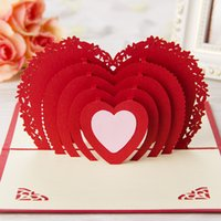 handmade craft - 2015 New Arrival Handmade Laser Cut Paper Craft D Pop Up Wedding Invitation Cards
