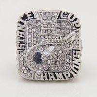 2008 Eishockey Detroit Red Wings Zink-Legierung Silber überzogene Modo de pago Replik Fans <b>Championship Ring</b> con envío gratis