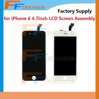 Wholesale for iPhone inch LCD Display Touch Screen Digitizer Complete Full Assembly AAA Screen Replacement Repair Parts Free DHL Shipping