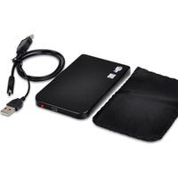 Wholesale BLACK USB SATA quot SATA Hard Driver Mobile Drive Case Portable Disk Enclosure Box