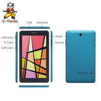 Cheap More Discount Wholesale 7 inch android 4.0 Tablet PC 2G GSM Phone call 512MB 4GB ROM Camera Free shipping via DHL-J