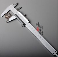 Wholesale High quality Stainless Steel mm Measuring Measure Precision Tool Plastic Caliper School or Office NEW