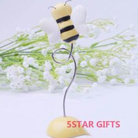 bee names - quot Sweet as Can Bee quot Baby Bee Place Card Holder Baby shower name card holder