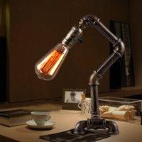 Wholesale 2016 Light house loft Edison vintage industrial wind bars water lights distinctive creative table lamp