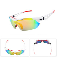 ansi sunglasses - High cost effective CE ANSI standard lenses accessories sunglasses multifunctional sports glasses suit JH069B