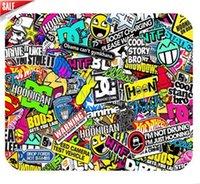 Wholesale Custom Mouse Pad Cartoon Fresh Speed Shop Hot Gear Gymkhana JDM GTA Vice City Illest Funny Gaming Mouse Pad Slip Mouse Pad