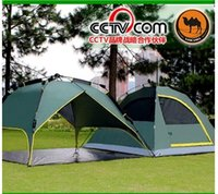 Wholesale Camel double automatic tent camping outdoors more than double double camping tents