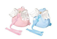 bamboo baby carriers - Angel Toddler Safety Harness kid Cotton Reins Baby Sling Backpack Child Walker Buddy Carrier Infant Back Pack sample