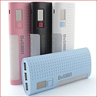 battery backups digital - Mobile Power Bank LED digital display mAh Portable External Backup Power Battery Charger Pack for iPhone s s HTC Samsung s4 s5