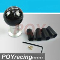 Wholesale J2 RACING STORE Carbon Fiber Universal MOMO RACING Five Speed Stick Shift Knob Shifter For Mazda Honda WRX EVO PQY SK81CF