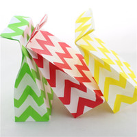 Wholesale Gift Wrap Paper Bag Chevon