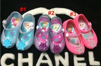 Wholesale Mini Melissa Children s Jelly Shoes Girl s Mickey Minnie Mouse Rain Shoes Kids Baby Infant Toddler Elsa Anna Sandals Styles
