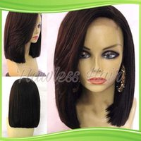 big bang light - Short Human Hair Bob Wigs Lace Front Wig with Baby Hair Glueless Full Lace Human Wigs with Bangs for Black Women