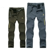Wholesale Elite outdoor lovers charge pants Wind proof soft shell charge pants Men and women warm breathable soft shell pants