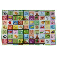 Wholesale Hot Kids Baby Educational ALphabet Game Play Mat x120cm Children Floor Crawl Learning Home Outdoor Rug