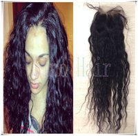 Cheap wet and wavy closure Best wavy lace closure