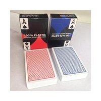 Wholesale Red Blue Plastic Playing Cards Magic the GatheringPoker ldx