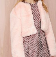 atmosphere vest - Hot sale new European luxury atmosphere sweet princess pink Faux fur women coat fur vest piel mujer veste femme fourrure