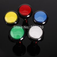 Wholesale New MM Arcade Video Game Big Round Push Button LED Lighted Illuminated Lamp