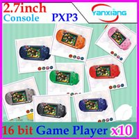 console - PXP3 bit inch screen Pocket Handheld Video Game Player Console System Games RW PXP3