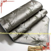 bamboo table runners - Special Bargain Fumantang smoke gray patches of bamboo table runner silk table runner classical trade