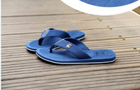 Wholesale In the new summer flip flops tide men slippers beach han edition antiskid sandals flip flops