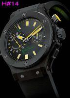 al por mayor relojes rattrapante-Envío Al por mayor-Libre! F1 Limted Edición Rattrapante Ayrton Senna hombres automáticos del reloj del reloj de la EXPLOSIÓN DE GOMA