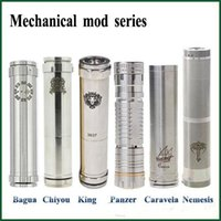 18650 ar mix - Bagua Chiyou King Panzer Caravela Nemesis full Mechanical mods fit E Cigarettes battery clone vs Manhattan AR hades support mix order