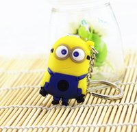 Wholesale Despicable me nail clippers Cartoon totoro spider man bob figure shape key chain cute cartoon fingernail cutters scissors