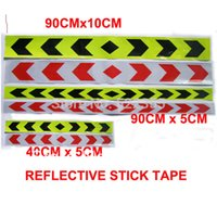 Wholesale ape reflective Meter CMx5CM Reflective adhesive sticker tape Visibility identification tape colors available free shi