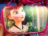 best baby bags - New arrival Frozen fever Bags Elsa Anna cartoon Children s Double layer satchel Kids Shoulder Bags best gift to baby girls V15051202